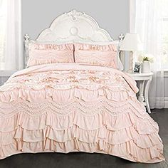 Decorative Quilted 3 Piece Coverlet Set With 2 Pillow Shams Queen Size Ambesonne Ballerina Bedspread Painting Illustration Of Girl With Floral Head Wear And Fluffy Pastel Toned Tutu Multicolor Nayancorporation Com