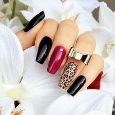 Best Gel Nail Art Designs For Long Best Gel Nail Art Designs For Long Nails 2018 Gel nails ar a lot of best nails since they need very little odds of obtaining raised and facilitate in reinforcing the real nails if utilised as a base c Sexy Nails, Hot Nails, Fancy Nails, Trendy Nails, Nails On Fleek, Hair And Nails, Kiss Nails, Polygel Nails, Nails 2018