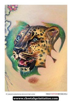 How To Draw Cheetah Print Tattoos 20 - http://cheetahprinttattoo.com/how-to-draw-cheetah-print-tattoos-20/
