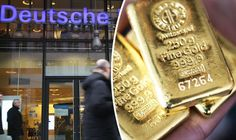 ( TICKING FINANCIAL TIME BOMB? Deutsche Bank 'refuses' customer demands for gold withdrawals ) :                                           DEUTSCHE BANK is 'refusing' to hand its OWN customers gold they have purchased through an investment venture.