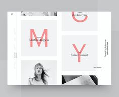 Beautiful typography treatment with clean layout  #Repost @mattiasjo  Fashion Designers Listing  #design #fashion #ysl #webdesign #graphicdesign #creative #uidesign #uxdesign #designinspiration #photoshop #uidesign #productdesign #sketch #webdesign #igstrategy #behance #dribbble #designinspiration #thedesigntip #graphicgang #artdirector #ui #ux #commedesgarcons #appdesign #iosinspiration #minimal #typography #layout #grid