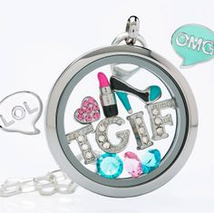 Origami Owl Examples | Origami Owl Living Locket™ Follow us on facebook: http://facebook.com/charmedbeyondwords