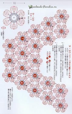 This post was discovered by SuDress crochet pattern for kids by mamie Col Crochet, Crochet Motifs, Crochet Collar, Crochet Flower Patterns, Crochet Diagram, Crochet Chart, Crochet Cardigan, Irish Crochet, Crochet Designs