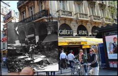 15 fotos que muestran cómo ha cambiado París después de la Segunda Guerra Mundial