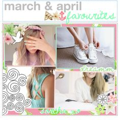 """""""march & april favourites ♡"""" by the-beauty-gurus ❤ liked on Polyvore"""