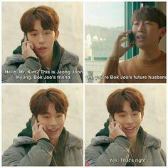 I love this freaking show soo much you dont even understand Korean Novela, Nam Joo Hyuk Lee Sung Kyung, Joon Hyung, Moonlight Drawn By Clouds, Suspicious Partner, Do Bong Soon, Weightlifting Fairy Kim Bok Joo, Korean Entertainment, Moon Lovers