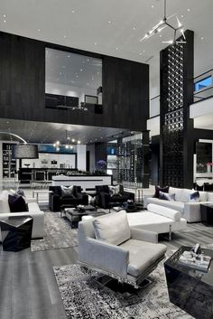 Modern House Interior Design Images Be Inspired by This Modern Luxury House Design – Home and Dream House Interior, Luxury Homes Dream Houses, Dream Home Design, Luxury Homes Interior, Luxury Home Decor, Modern House Design, Modern Interior Design, Luxury Modern Homes, Interior Ideas