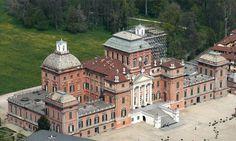Castle of Racconigi , near Torino - Piedmont , Italy