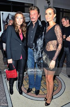 Photo d'actualité : Laura Smet, Johnny Hallyday and wife Laetitia...