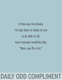 If this was Neverland, though, I'd be afraid for my life thanks to Peter Pan's shadow.  OUAT has ruined flying for me.