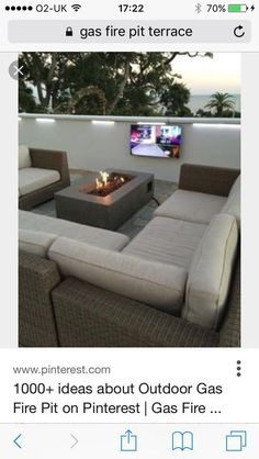 Commercial Outdoor Gas Fire Pit At Biloxi
