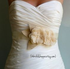 Wedding Sash PETITE ASHLEY