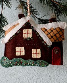 Posie: Rosy Little Things — Walk in the Woods Ornament Set Pattern