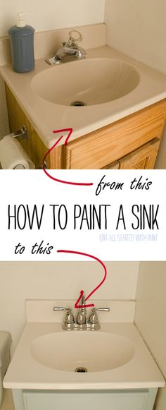 Painting Plastic Bathroom Cabinets how to paint your bathroom vanity (the easy way!) | primer