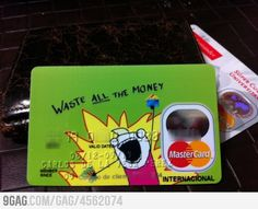 Best credit card graphic EVER.