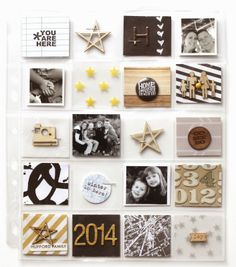 Elle's Studio: Project Life: 2014 cover page