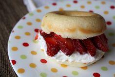 Seaweed & Sassafras: Strawberry Shortcake with Homemade Donuts