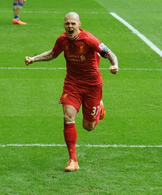 to Liverpool thanks to Martin Skrtel's quick reactions. Fc Liverpool, Best Football Team, First Love, Sports, Club, Life, Hs Sports, Sport