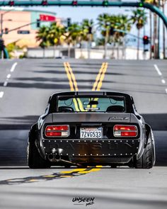 Image may contain: car and outdoor Datsun 240z, Datsun Car, Tuner Cars, Jdm Cars, Nissan Z Cars, Japanese Sports Cars, Old School Cars, Import Cars, Japan Cars