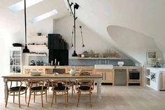 Arredare una cucina senza pensili ma ricca di stile - Tempo Libero - quotidiano.net