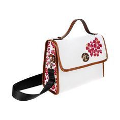 """Sac """"Hibiscus"""" Hibiscus, Sneakers, Creations, Shoulder Bag, Canvas, Bags, Fashion, Purse, Women"""