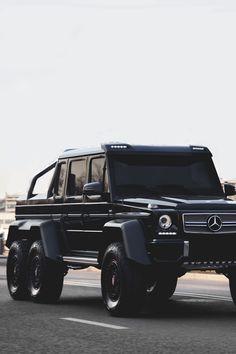 Mercedes Benz G63 AMG - 6 x 6