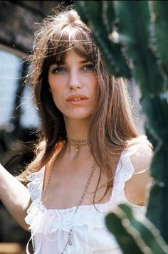 Jane Birkin, the natural beauty
