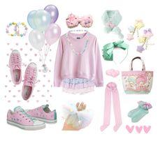 Kawaii clothes and accessories Harajuku Fashion, Kawaii Fashion, Lolita Fashion, Cute Fashion, Fashion Outfits, Visual Kei, Pastell Goth Outfits, Kawaii Clothes, Pastel Clothes