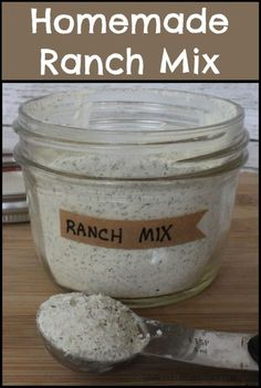 Homemade Copycat Hidden Valley Ranch Mix