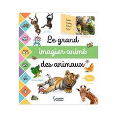 Livre Le grand imagier animé des animaux pour enfant de 2 ans à 5 ans - Oxybul éveil et jeux Anime, Questions, Jouer, Design Moderne, Solution, Habitats, Products, Mushrooms, Horsehair