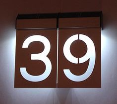 GEO Led: Número da Casa com Leds