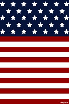 American flag background :)