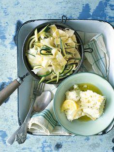 zucchini and ricotta pasta