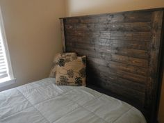 Items similar to Very solid wood beds, nightstands and More. All hand made to give a mountain house look. on Etsy Coffee Staining, Queen Beds, Furniture Projects, Solid Wood, Bed Pillows, Pillow Cases, Sweet Home, Wood Beds, Nightstands