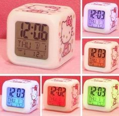 Hello Kitty Alarm Clock