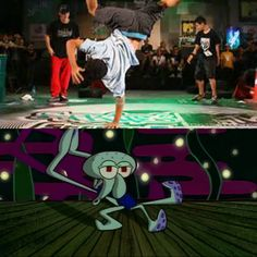 How you think you look dancing vs how you really look.