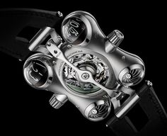 MB&F (Maximilian Büsser and friends) is introducing their sixth Horological Machine 'Space Pirate', a timepiece designed to operate in the hostile Bell Ross, Richard Mille, Jaco, G Shock, Devon, Space Pirate, Space Travel, Red Dots, Outer Space