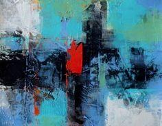 "Saatchi Art Artist Saulo Silveira; Painting, ""Poema azul"" #art"