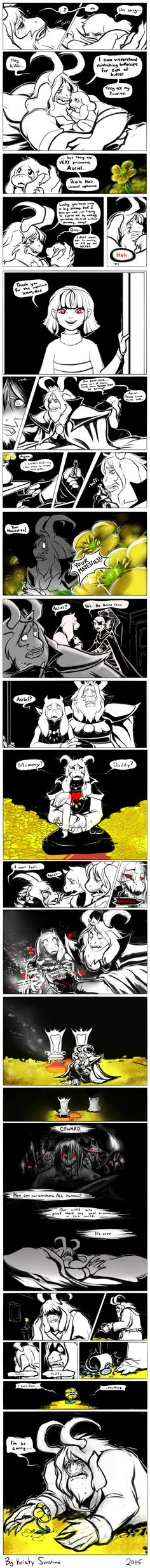 That's rough, buddy (UNDERTALE SPOILERS) by peachiekeenie.deviantart.com on @DeviantArt
