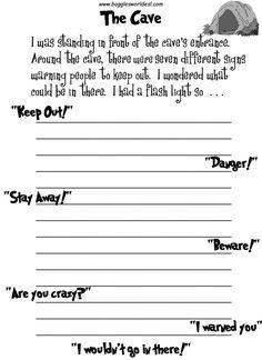 Creative writing essay outline