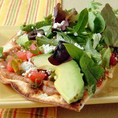 Veggie Tostadas #healthy #recipe | health.com