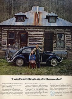My favorite vintage VW ad