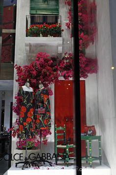 Dolce & Gabbana Window Design ss2015
