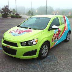 Local Flavors, for vehicle wrap by: CreativityForHire.com  #design #graphics #vehicle wraps #creativityforhire
