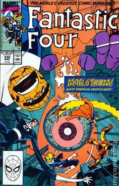 Fantastic Four (1961 1st Series) Mark Jewelers 338MJ Marvel comics comic book cover