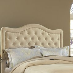 jcpenney.com | Liana Upholstered Headboard with Nailhead Trim