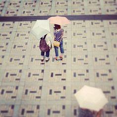A rainy Sunday in Harajuku. Photo: Heather Moore