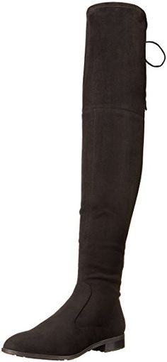 02004c95ba8 Marc Fisher Women s Olympia Over The Knee Boot Review Black 7