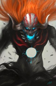 Hollow Ichigo 2 by ~ArtMagix on deviantART