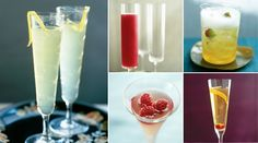 links to some holiday champagne cocktails on epicurious. i loves me some champagne.